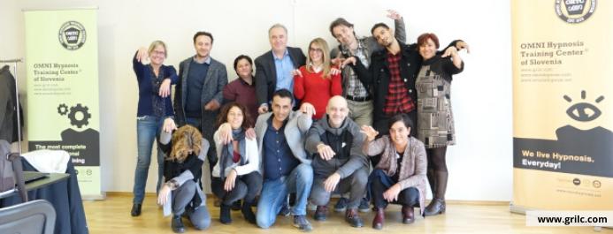 Mednarodna šola hipnoze in hipnoterapije Italija april 2018
